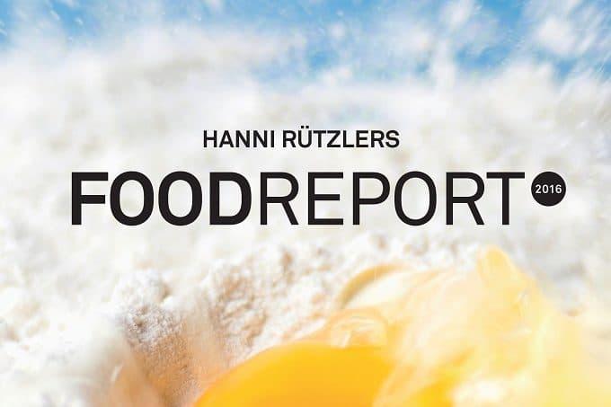 Das Titelbild zum Food Report 2016 von Hanni Rützlers