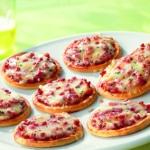 Minipizza Salami Snack von EDNA
