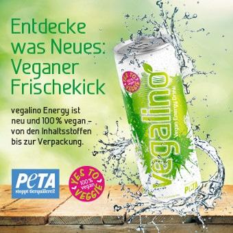 veganer Energy drink vegalino