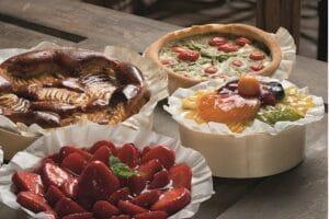 Kuchen in Backringen