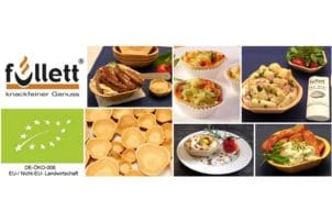 Verschiedene Snack Verpackungen für Muffins, Quiche und Suppen von Füllett