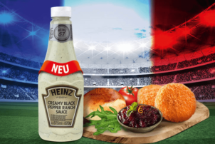 Creamy Black Pepper Ranch Burger Sauce von Heinz