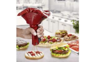 Der Quick-o-mat von Heinz, ein Ketchup Spender für Pizza, Sandwich und Burger