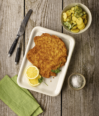 Salomon MEAT SELECTION Knusper_Schnitzel_Homestyle_Rezept_Kartoffelsalat 340px