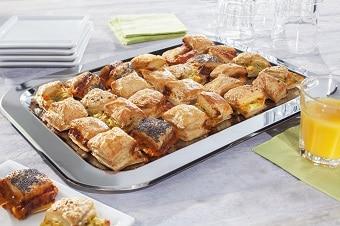 Tagungen, Konferenzen oder andere Veranstaltungen – hierfür sind die Gourmet-Stangen eine ideale Alternative zu aufwendig belegten Brötchen. Bieten Sie Ihren Gästen mehr!