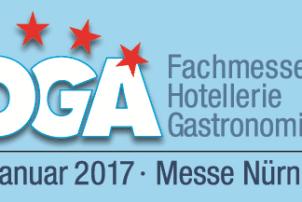 Das Logo der HOGA Fachmesse Hotellerie Gastronomie