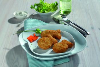 vegetarische Fishnuggest Myconfino BestCon | snackconnection
