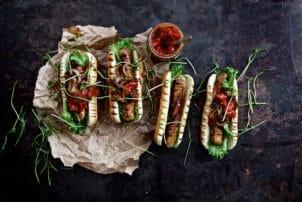 egetarisches Hot Dog Bratwurst Quorn BestCon | snackconnection