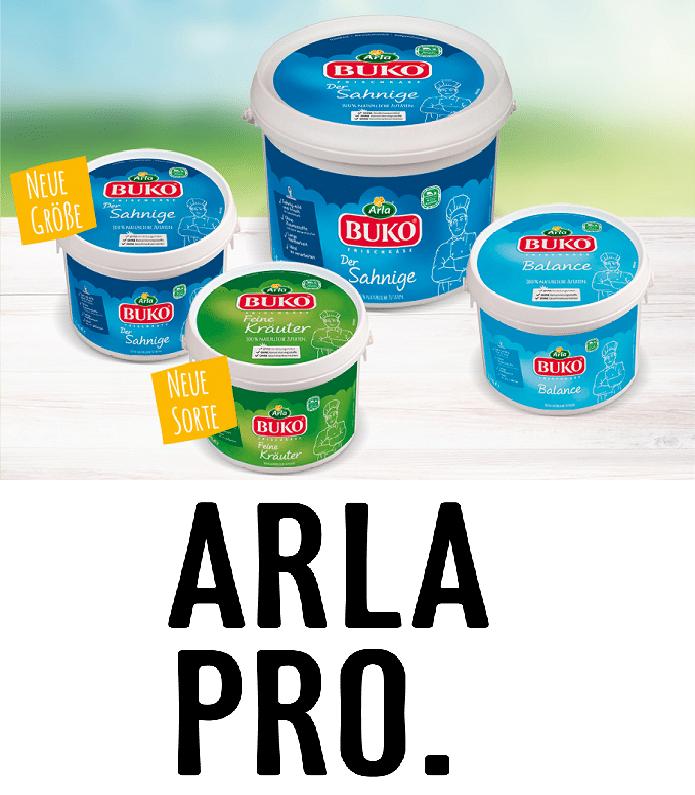 Arla pro Buko Skyr Produkte