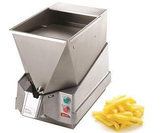 Pommes-frites und Kartoffelchips einfach und frisch zubereitet