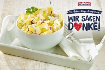 Veganer Pellkartoffel Salat