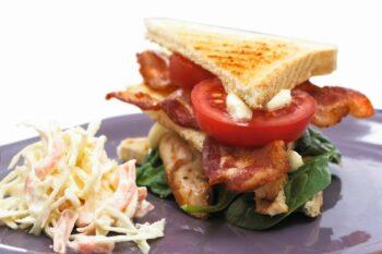 Club Sandwich mit Bacon von Tulip