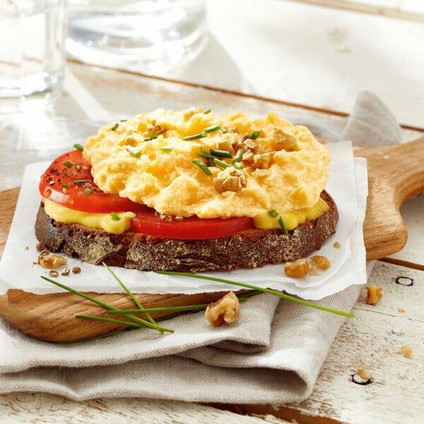 Belegtes Brot Rührei Snegg Convenience Eipro