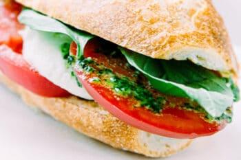 Mozarella Tomate Baguette