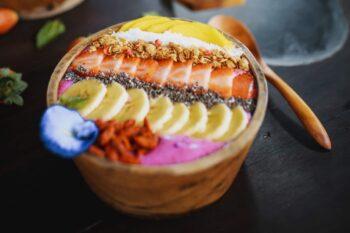 Smoothie Bowl Früchte