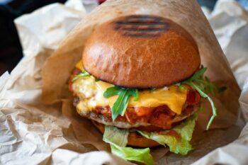 Burger vegan Fleischersatz