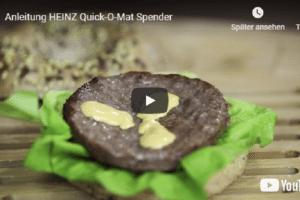 Saucenspender Quick o Mat Burger Ketchup Mayo KraftHeinz