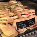 Sandwiches in einer Auslage in Ovenbag Verpackungen von Elag