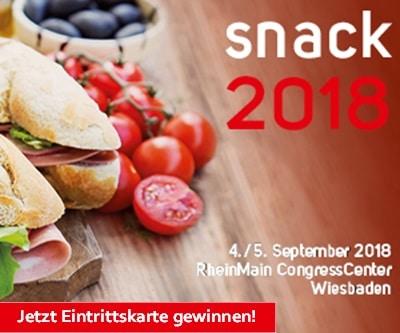 Side Banner Snack Kongress 2018 Gewinnspiel – 300×250