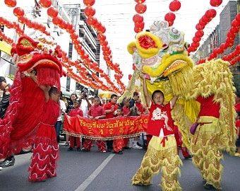 Themenwoche Asia: Chinesisches Neujahrsfest zum Anlass nehmen