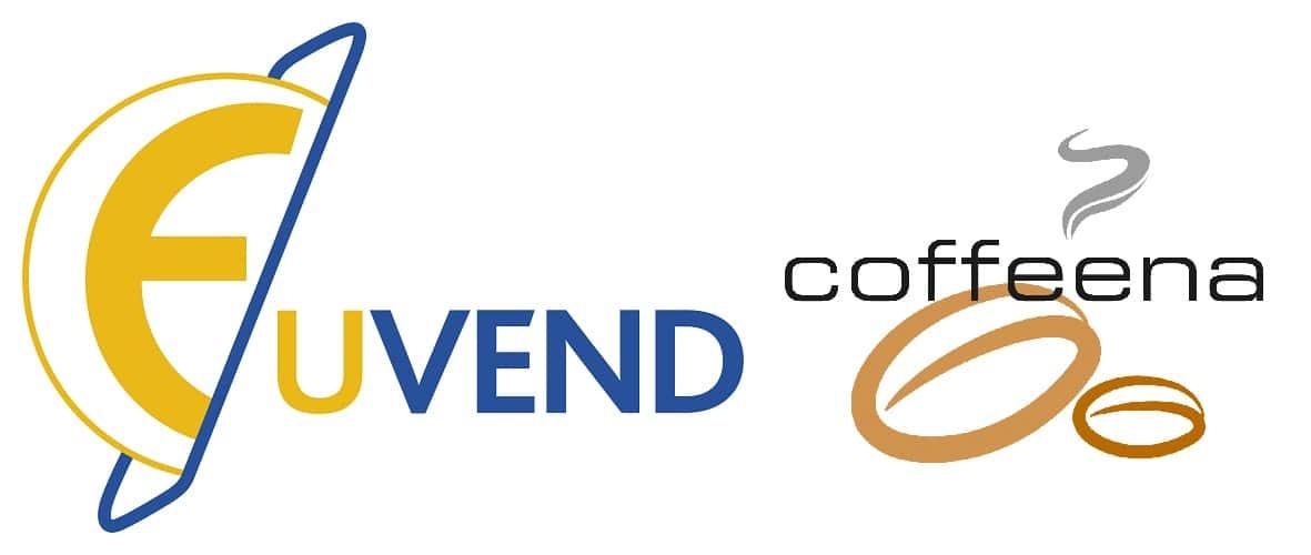 Das Logo von Eu´Vend und coffeena