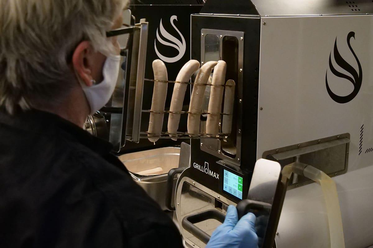 Grillomax Grill-Einsatz für Wurst