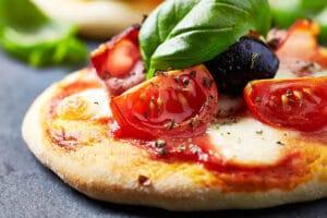 Pizza aus dem Grillomax / snackconnection