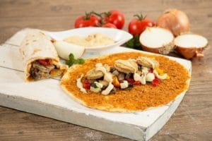 Lahmacun Ethno orientalisch levante point of food gastro