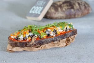 veggie stulle brot vegetarisch rational