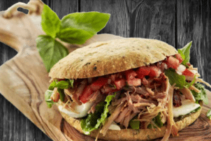 Sandwich mit Pulled Pork | Tulip
