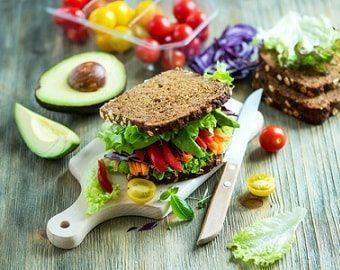 Nachhaltigkeit mit vegetarischen Produkten