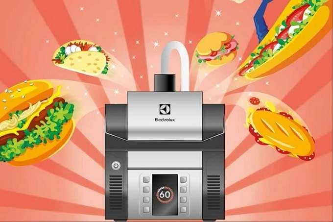 Der High Speed Grill von Electrolux