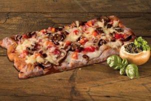 Eine Almkruste Pizza von Perplex