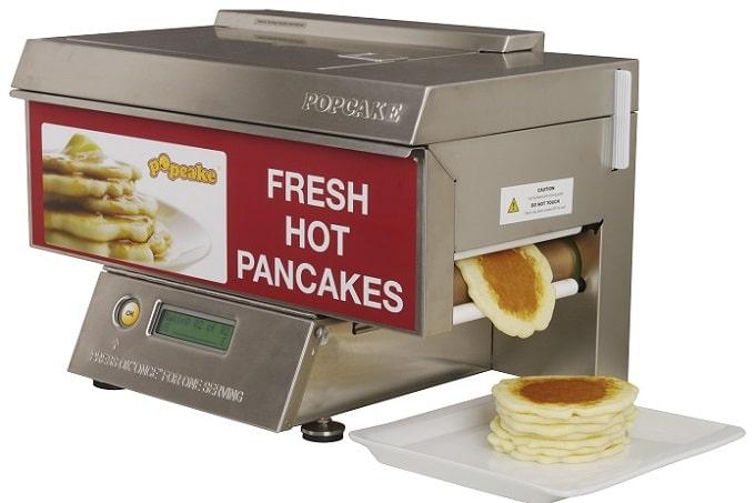 Eine Pfannkuchen Maschine von Popcake
