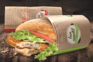 Eine Sandwich