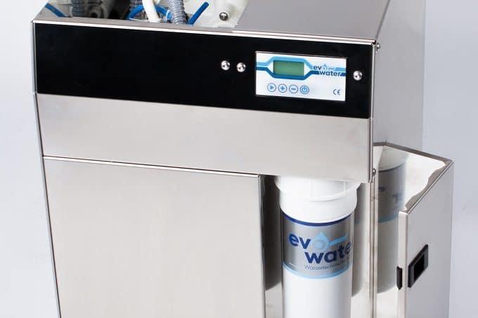 Eine Wasserfilter Maschine von evo water