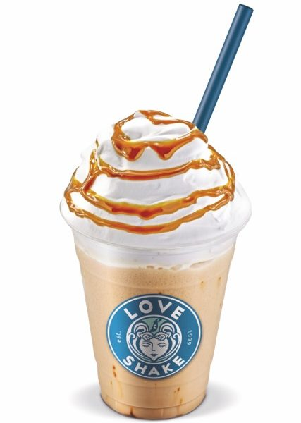 Der Caramel Love Shake von fresh connection