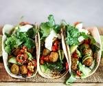 Findus Falafel-Tacos mit Bohnencreme