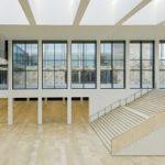 Das RheinMain CongressCenter in Wiesbaden von innen.