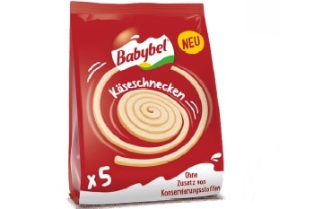 Käseschnecken Babybel bel foodservice Käsesnacks