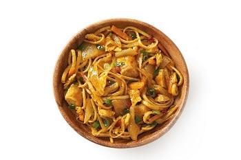 Asia Food Thai Curry Nudeln von Delasia. Asiatischer Snack