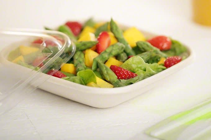 Bagasse Salatverpackung von RAUSCH Verpackung für Salat Snacks