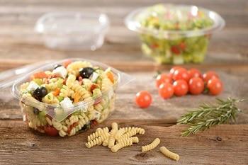 Kunststoff Salatverpackung von RAUSCH Verpackung für Salat Snacks