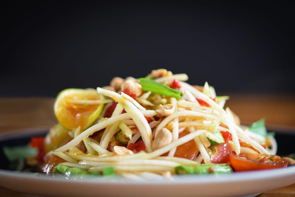 Thailändischer Papaya Salat | snackconnection