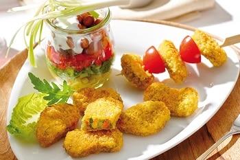 Schne-frost Avita Knusper Gemüse Nuggets vegetarischer Snack