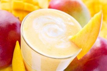 Mango Milchshake als Sommer Trend