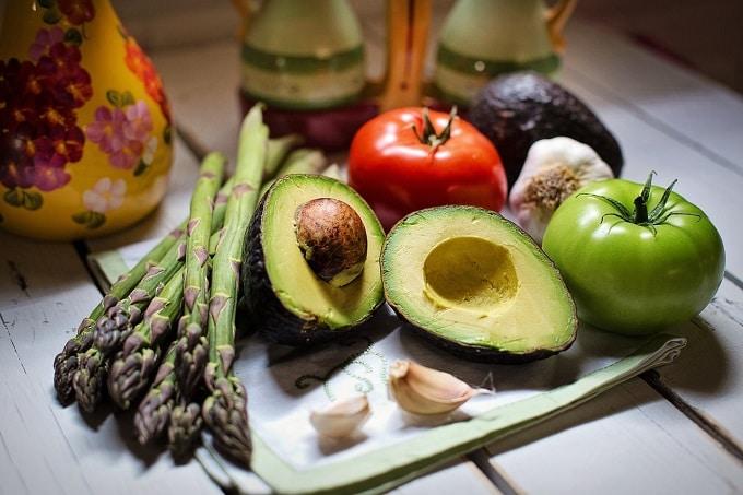 Veggie und vegan Gemüse Snacks