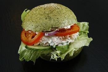 Veganer Burger vegetarisch und vegan