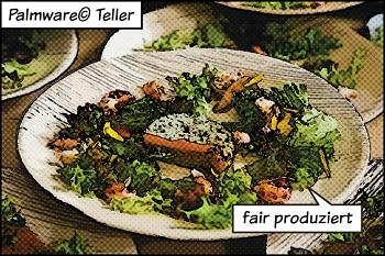 Bionatic greenbox Palmware Teller fair produziert