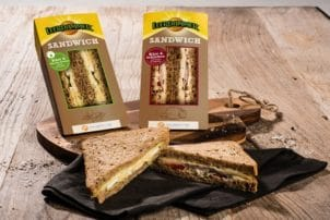 Bel Foodservice Leerdammer Käse Sandwiches